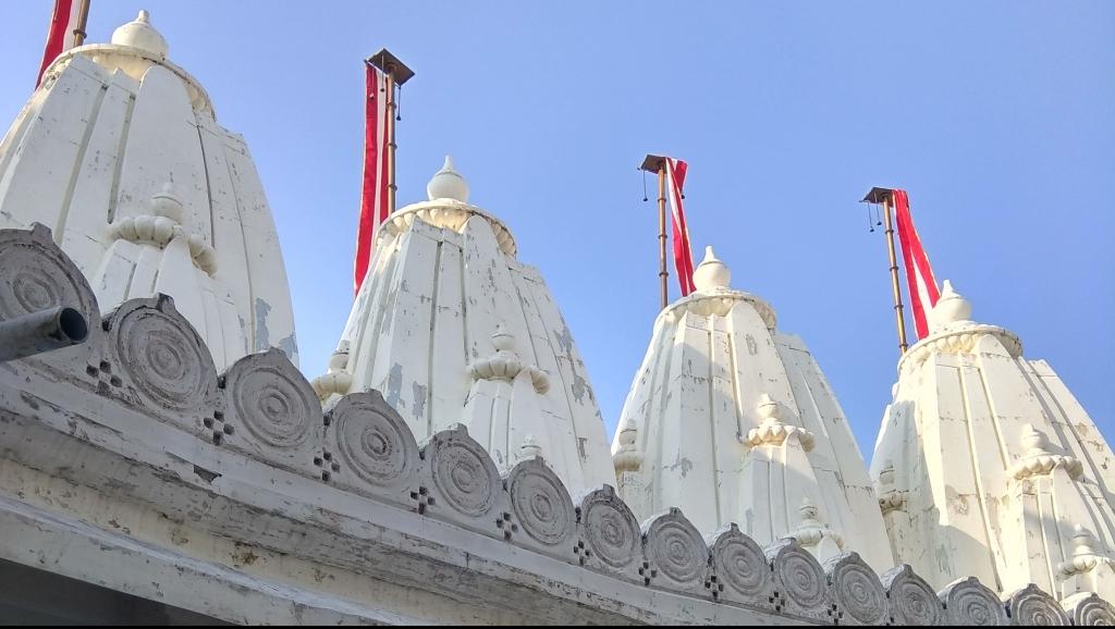Turrets of a Jain Derasar, Temple in Shikharji