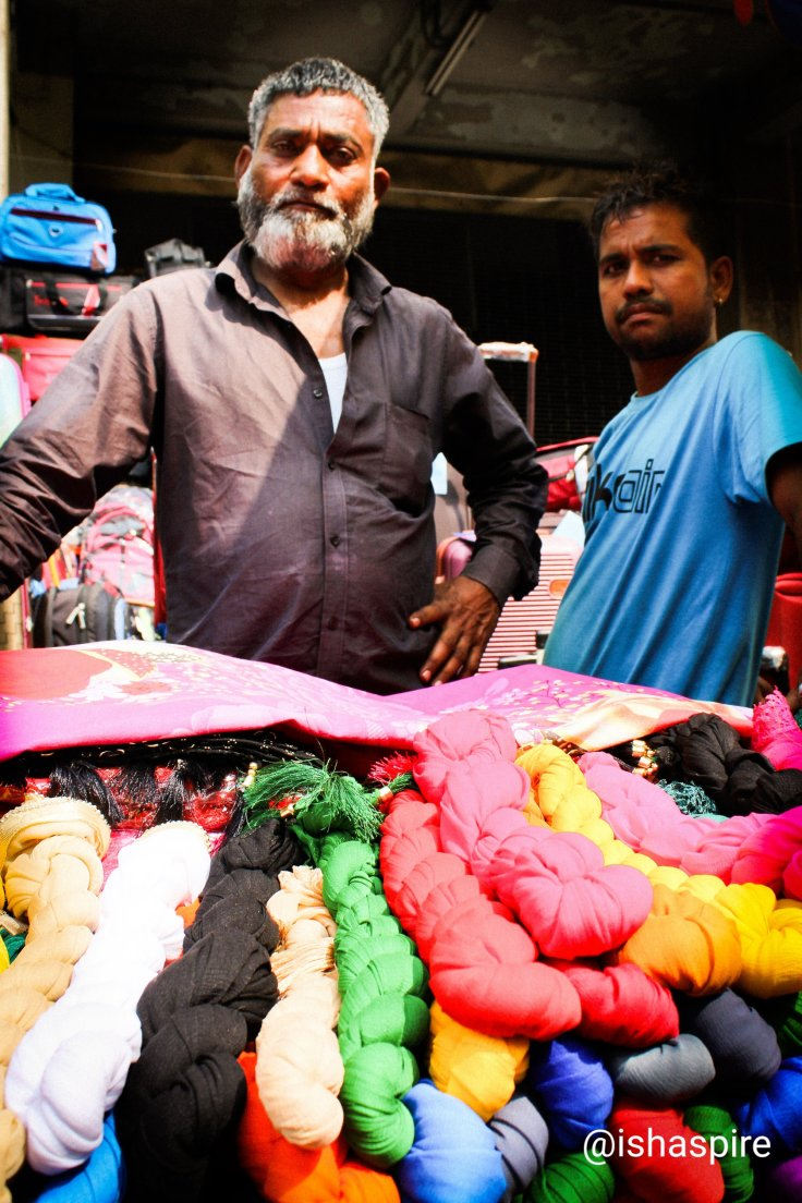 Hawkers of Kolkata, Bertram Street