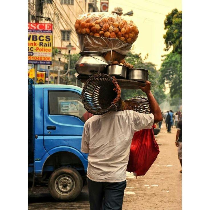 Image - Puchkawala - Kolkata - Hawkers